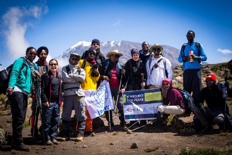 Auf dem weg zum Gipfel - Foto: www.ujuzi.de