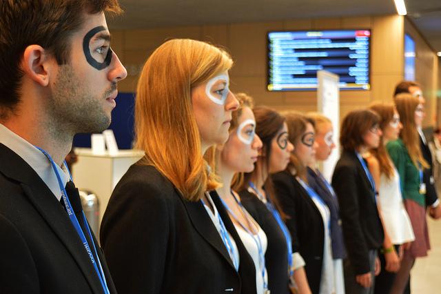 Jugendbündnis Zukunftsenergie auf der Klima-Vorbereitungskonferenz in Bonn - Foto: Chris Wright