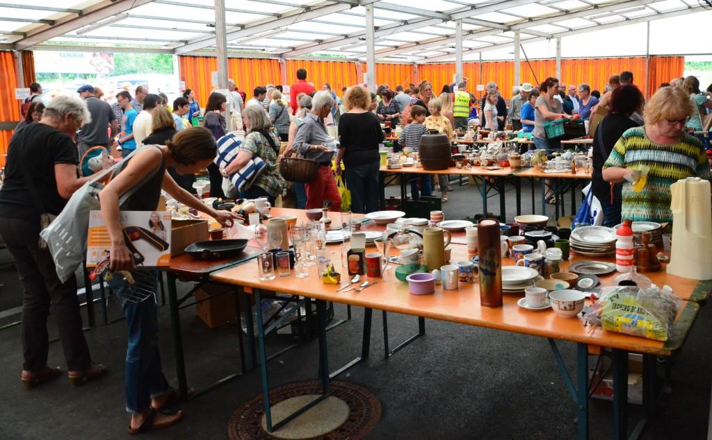Warenausstauschtag 2015 - Foto: Norbert Schupp