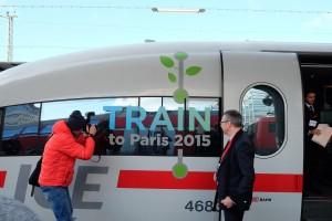 Train to Paris - Sonderzug zur Klimakonferenz
