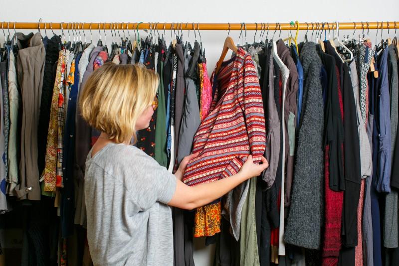 Was gibt der Kleiderschrank heute her? - Foto: NABU/S.Kühnapfel