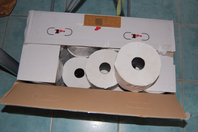 Toilettenpapier - Foto: Flöper