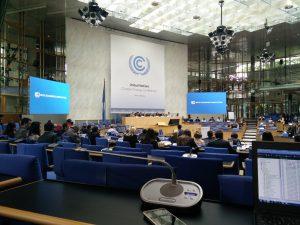 Klimakonferen in Bonn. Bild: Sebastian Scholz