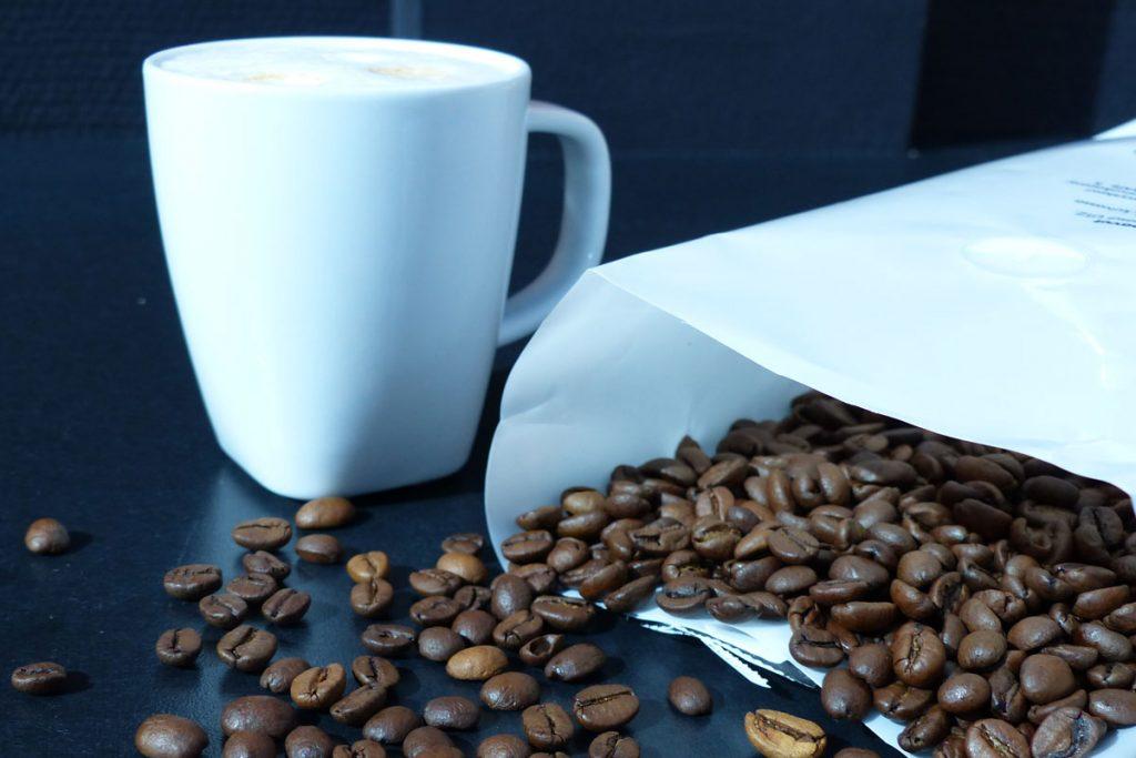 Milch und Kafee