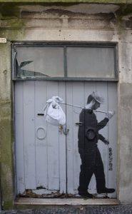 Streetart gegen Gentrifizierung - Shareconomy Teil des Problems. Foto: Sarah Affenzeller