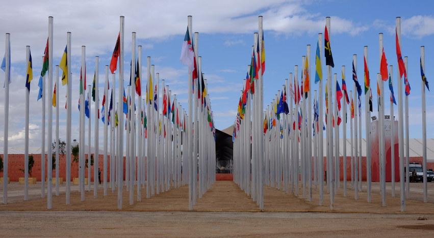 Weltklimakonferenz in Marrakesch COP22. Foto: Sebastian Scholz