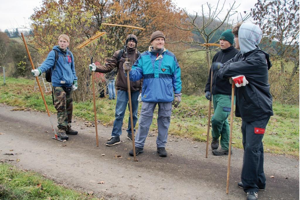 """BFD-Kurs """"Praktischer Natur- und Tierschutz"""" - Foto: Sebastian Weigand"""