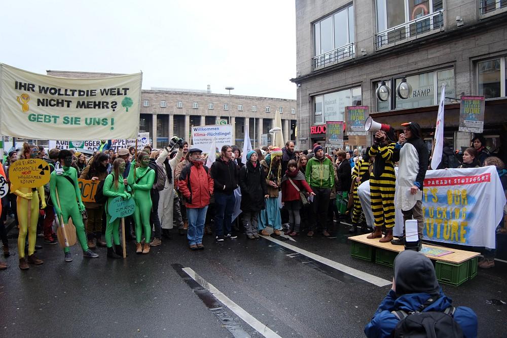 Climate Parade Stuttgart