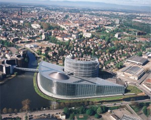 Das Europaparlament in Straßburg Foto: europarl.ie