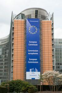 Berlaymont-Gebäude in Brüssel, Sitz der Europäischen Kommission