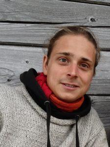 Marco Maier - Vogelwart auf Trischen 2016
