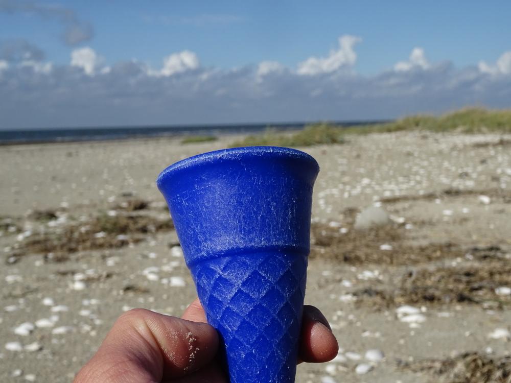 Eiswaffel aus Kunststoff - warum?