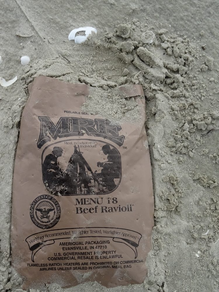 MRE (Meal ready to eat) Menu 18