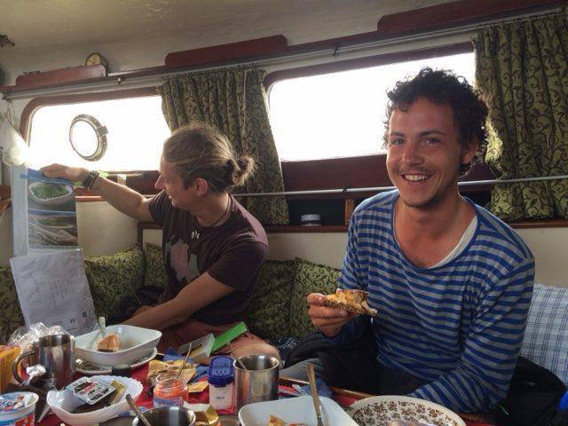 """Abschiedsfrühstück an Bord der """"LUISE"""""""