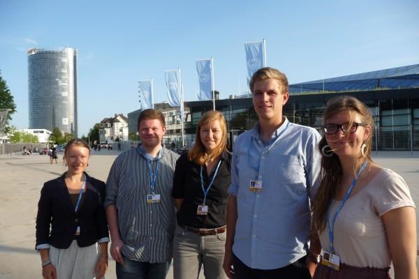 Das Jugendbündnis begleitet seit langer Zeit kritisch Klimaverhandlungen - Foto: Dorothea Epperlein