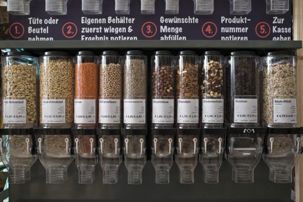Lebensmittelspender - Foto: Unverpackt einkaufen! 2015