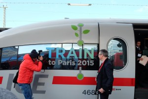 Train to Paris - Sonderzug zur Klimakonferenz