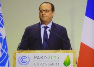 François Hollande, Präsident Frankreich.