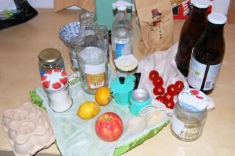 Küche geht auch plastikfrei - Küche: Foto: NABU/N. Flöper