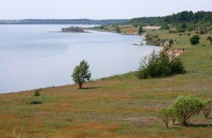 Großräschener See als Bergbaufolgelandschaft - Foto