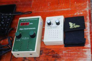 Batdetektoren bei der Batnight 2016