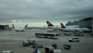 Flughafen Frankfurt. Foto: Sebastian Scholz