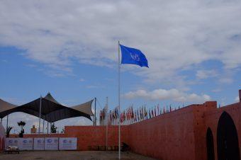 Klimakonferenz Marrakesch. Foto: Sebastian Scholz