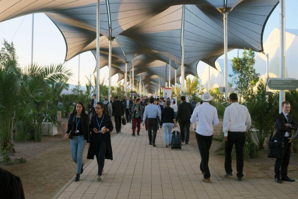 Konferenzgelände der COP22. Foto: Sebastian Scholz
