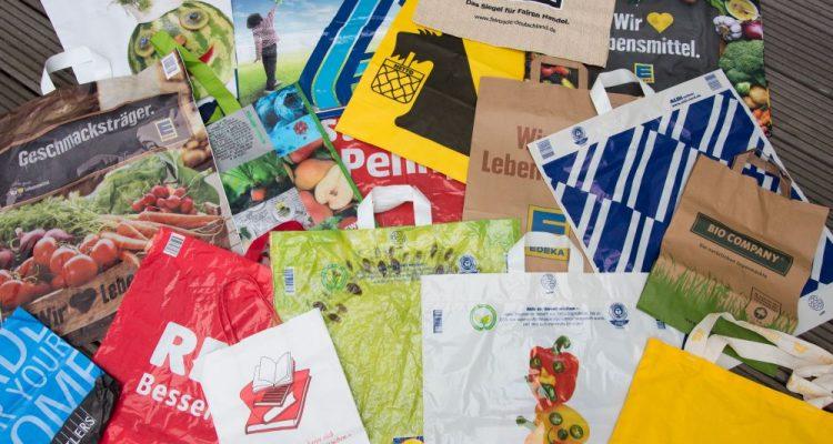 Noch immer viel zu viele Plastiktüten