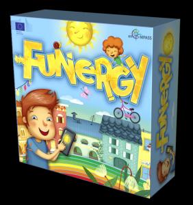 Funergy ist ein Kartenspiel, das im H2020-Projekt enCOMPASS entwickelt wird.