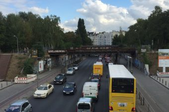 Feierabendverkehr, Berlin