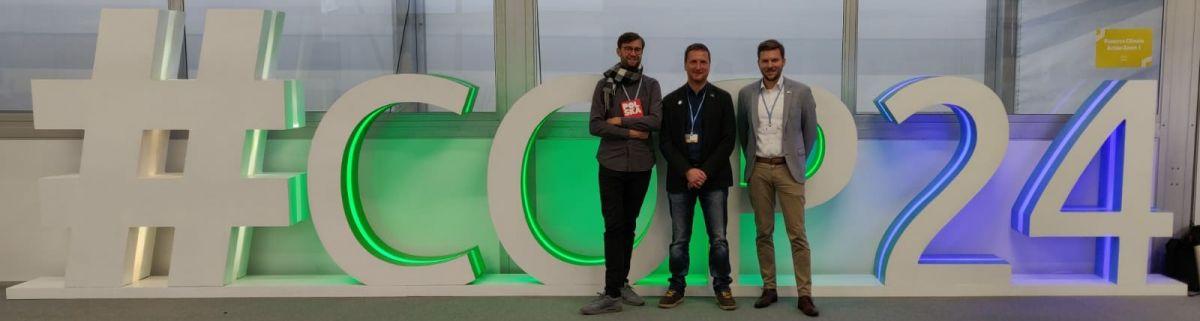 Das COP-NABU-Team: Sebastian Scholz, Danny Püschel, Jan Schönewolf