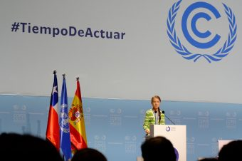 Greta Thunberg auf der COP25 - Foto:Sebastian Scholz