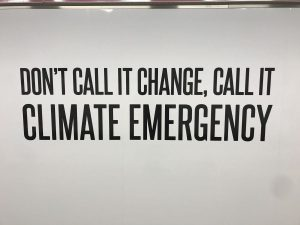 Let's call it climate emergency!