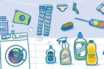 Tipps zum umweltfreundlichen Waschen und Putzen