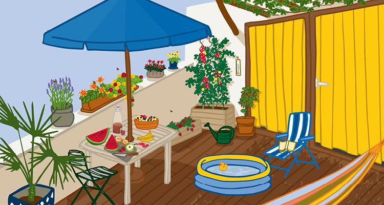 Gut durch die Sommerhitze – ohne Klimaanlage