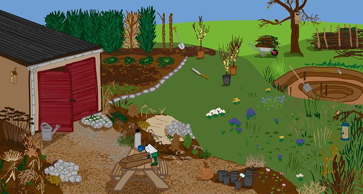 Gut geplant zum Gartenglück: Mit neuen Ideen ins Frühjahr starten