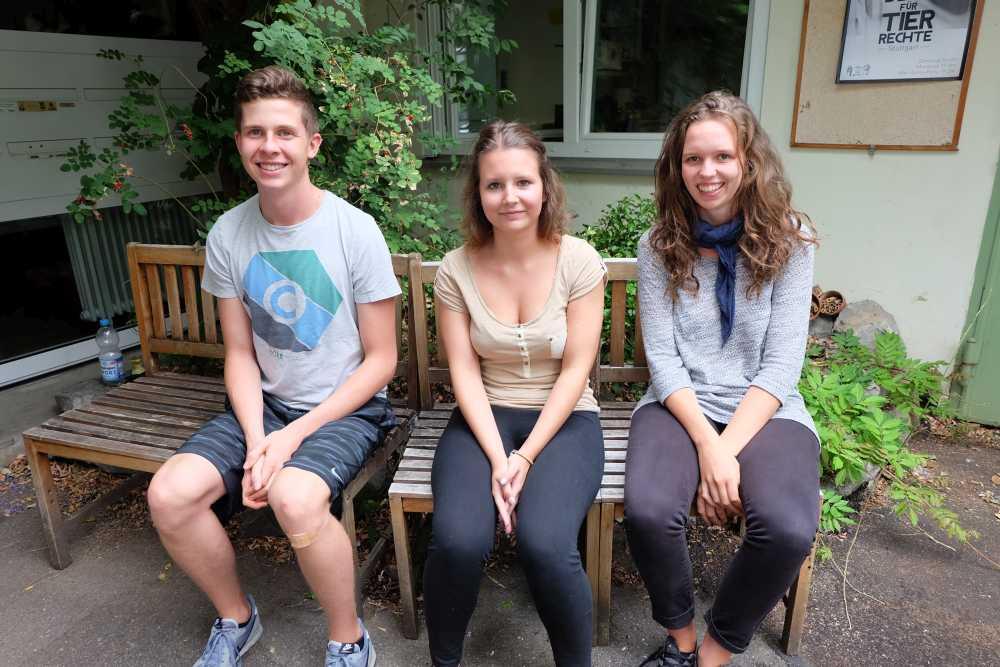 Paul, Sabrina und ich