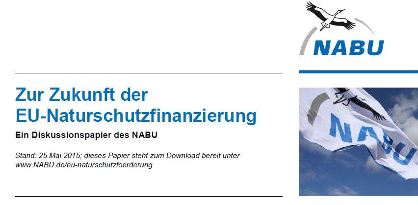 Das viel diskutierte NABU-Papier zum Download