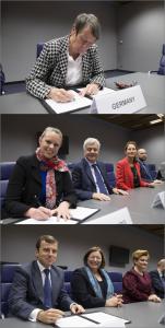 Bundesumweltministerin Barabara Hendricks initiiert Allianz gegen die Öffnung der EU-Naturschutzrichtlinien (Fotos: The European Union)