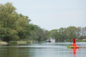 Bootsverkehr auf der Unteren Havel bei Parey. Foto: NABU/Klemens Karkow