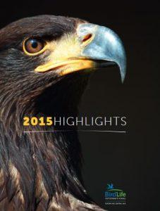 BirdLife Europe und Central Asia Jahresbericht 2015