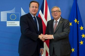 David Cameron und Jean-Claude Juncker © European Union , 2016 Source EC - Audiovisual Service Photo Etienne Ansotte