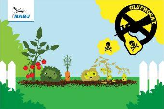 Glyphosat - Grafik: NABU/Diana Neumerkel