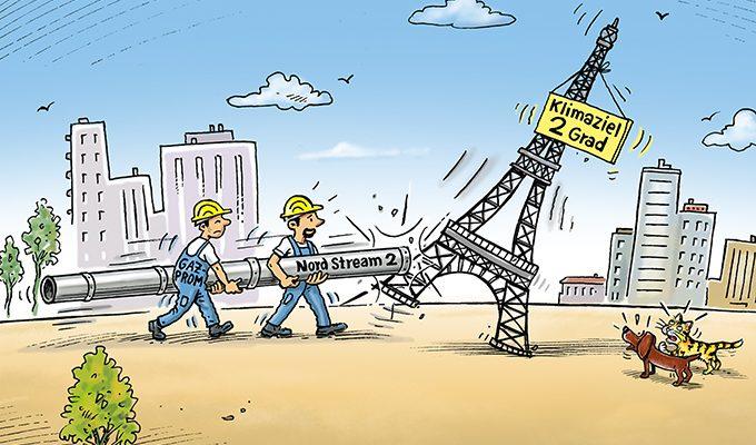 Für Klima und Naturschutz: Stoppt Nord Stream 2!
