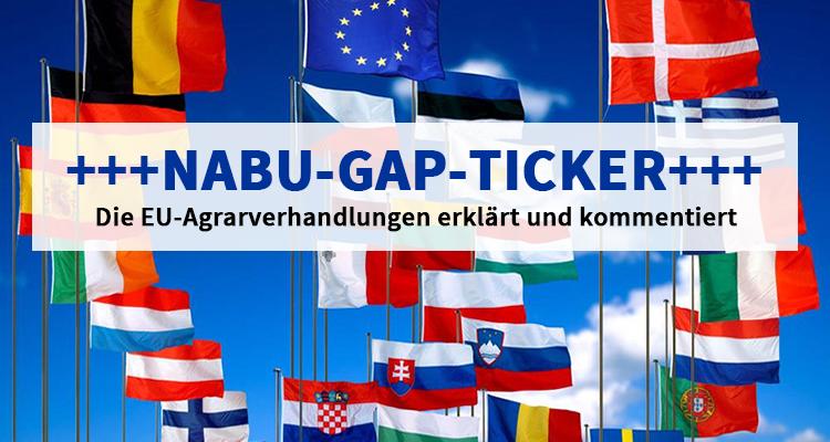 NABU-GAP-Ticker: Können wir uns Umweltschutz in der Agrarpolitik jetzt noch leisten?