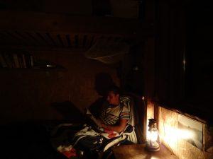 Gemütlichkeit am Abend: geht auch ohne Strom